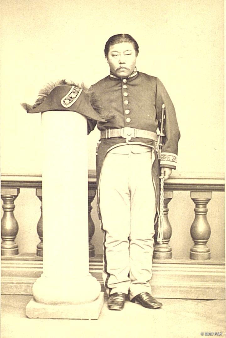 Портрет японского офицера