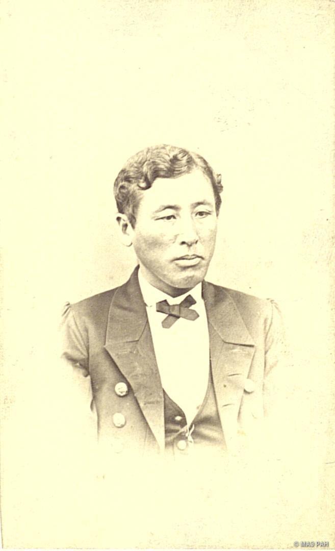 Портрет контр-адмирала Ито. Префектура Канагава, город Иокогама
