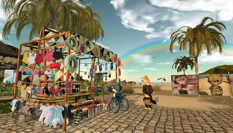 """<a href=""""https://pieni.art/beach-dinkie-boutique/"""" rel=""""noreferrer nofollow"""">Pieni.art blog post</a> with pics, details and links.  *May 15th 12pm SLT-Beach Party by Lycia & Nofu!* <a href=""""http://maps.secondlife.com/secondlife/Dizza/90/205/21"""" rel=""""noreferrer nofollow""""> Petite Village Beach</a>  Thanks for looking!"""