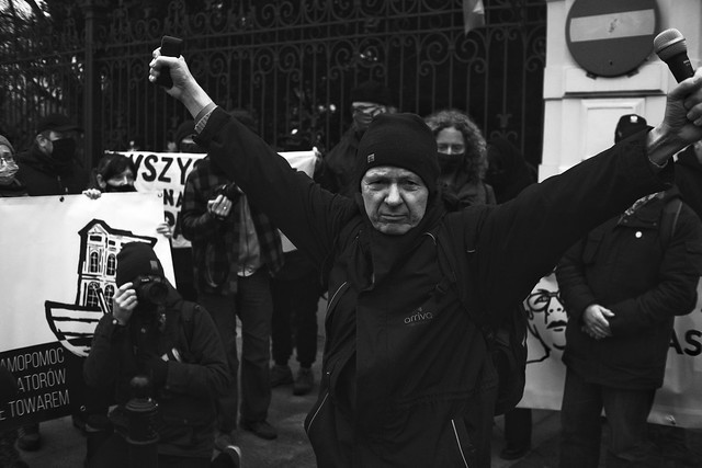 Warsaw 2021 | Tenants protest