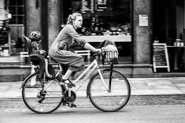 Cycling home