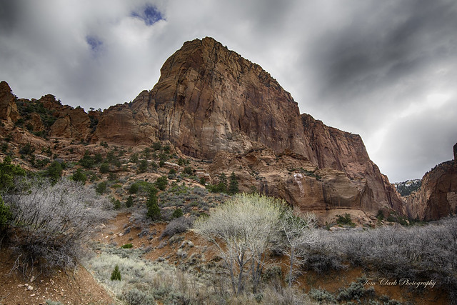 Paria Point mnt in Kolob Canyons, Utah