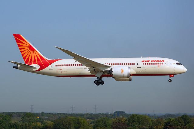 VT-ANC Air India