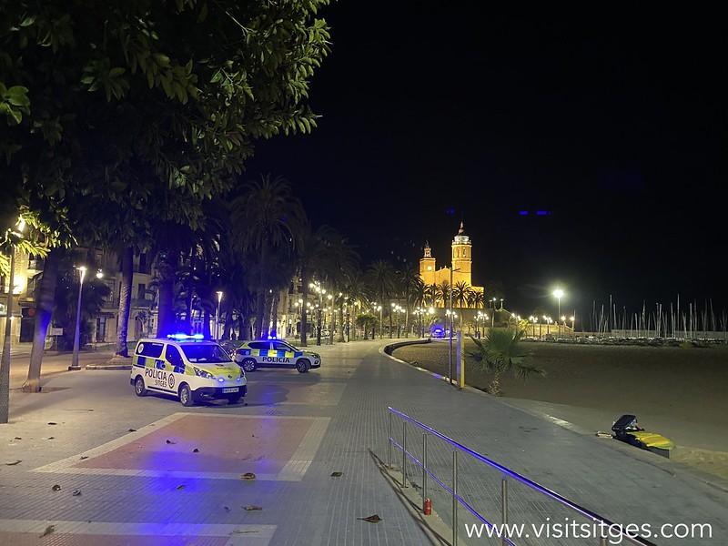 San Juan en Sitges sin incidencias destacables