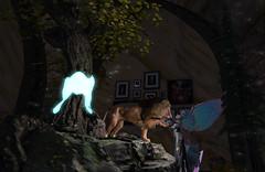 Remembering Dark Moon in the Elven Forest booth at Fantasy Faire 2021
