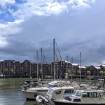 Bad clouds over Preston Marina