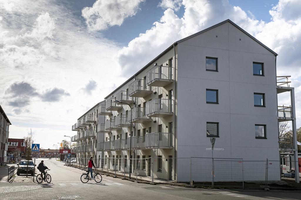 20210508 bostadsbygge flerfamiljshjus Stockholmsvagen Perstorp_01