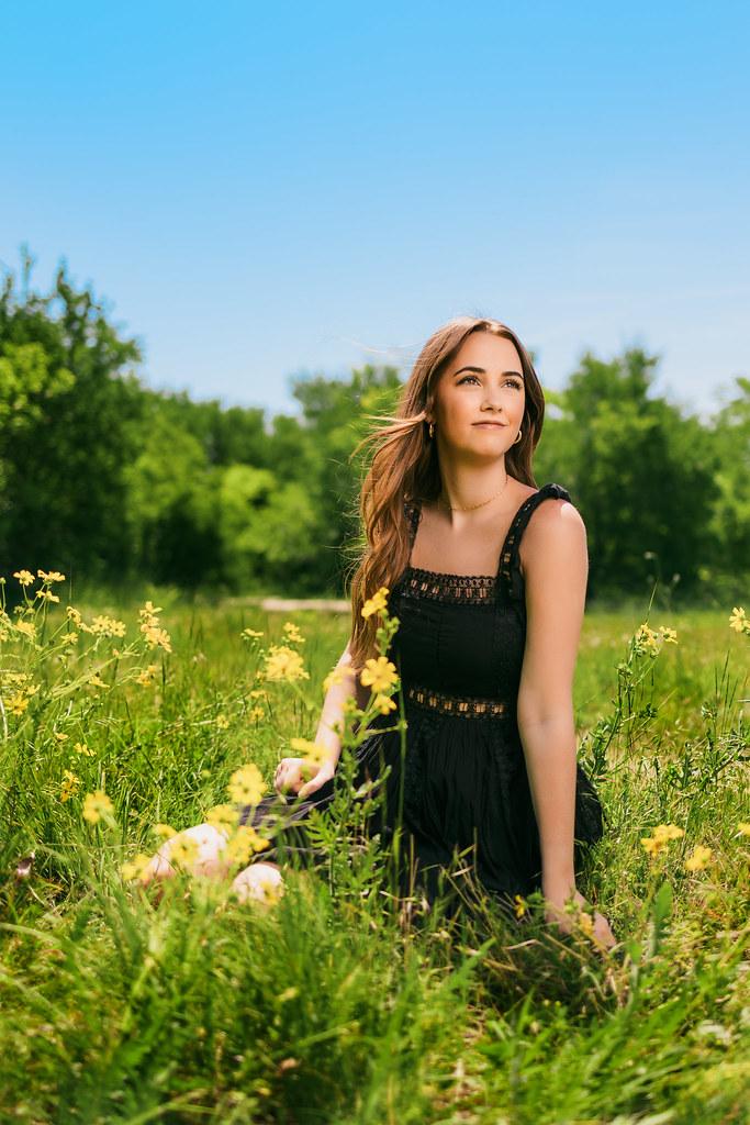A wildflower portrait