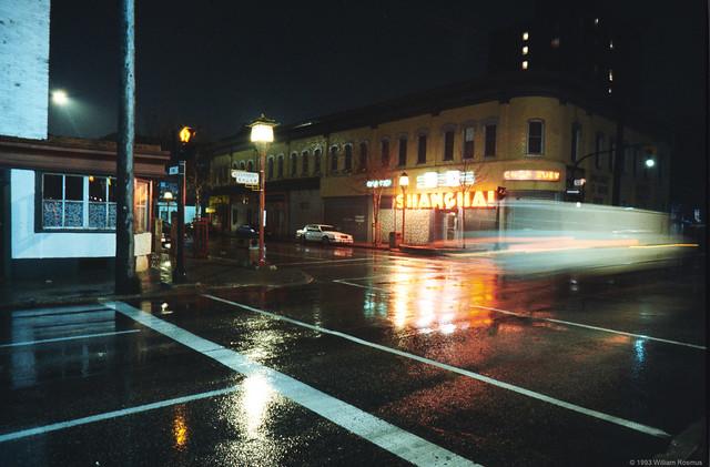 No Stopping Tonight - Chinatown, Winnipeg MB 1994
