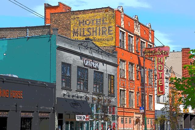 Hotel Milshire- Logan Square- Chicago, IL USA