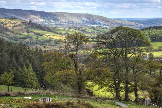 Shropshire countryside near the Long Mynd