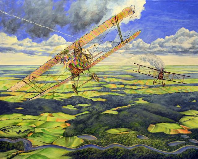Flight of the Harlekin