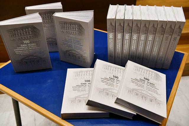 10.05.2021. Andra Levites kundze piedalās rakstu krājuma par Latvijas un Svētā Krēsla diplomātisko attiecību simtgadi atvēršanā