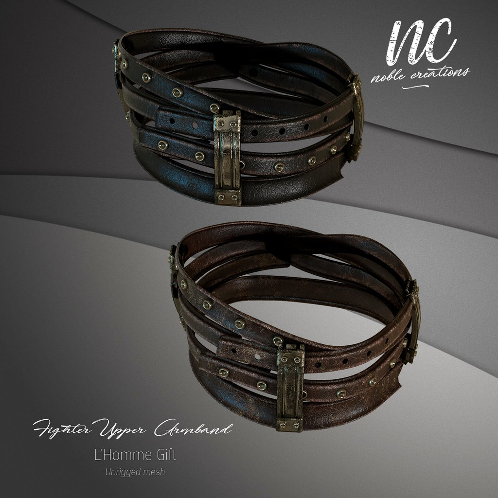 [NC] – Fighter Upper Armband – NEW GIFT