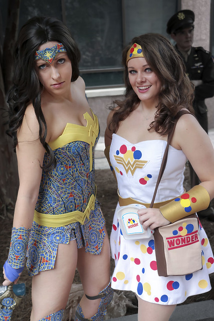 Cult of the Carpet Wonder Woman and Wonder (Bread) Woman