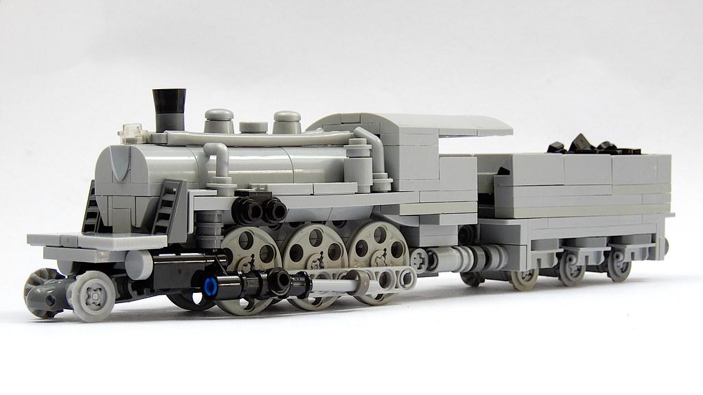 The 2-6-0 / Mogul Steam Locomotive (MOC)