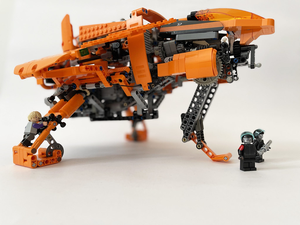 Lego space ship from Space Quest IV