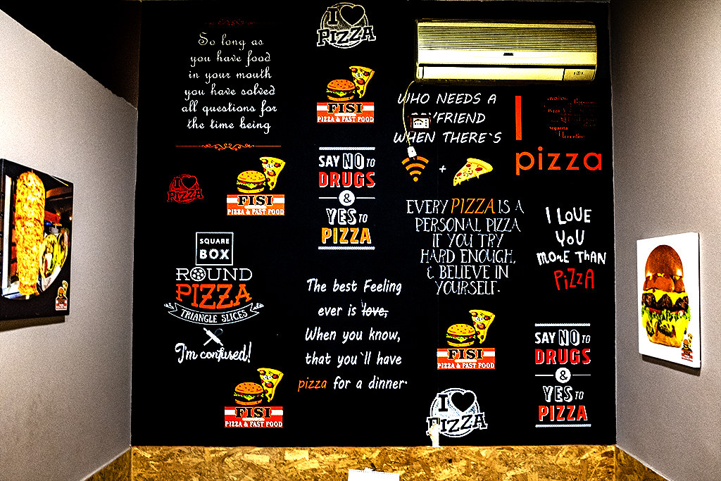 SAY NO TO DRUGS SAY YES TO PIZZA on 5-6-21--Shkoder