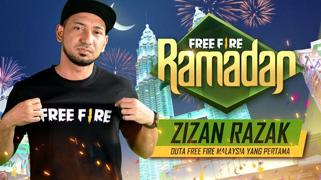 Zizan Razak Duta Free Fire Malaysia Yang Pertama