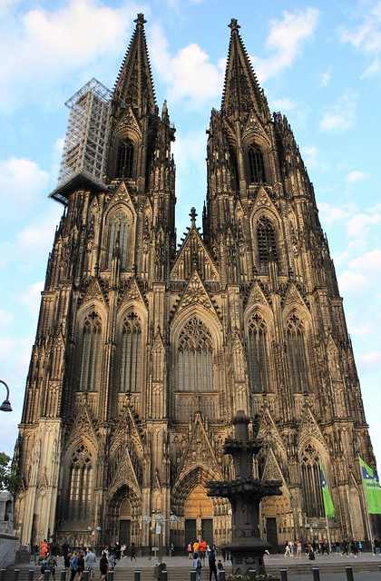 (1) Beautiful Gothic Architecture, Cologne Cathedral - Kölner Dom, Cologne (Köln), Germany