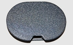 Smart Roadster Towing Eye cover grey silver