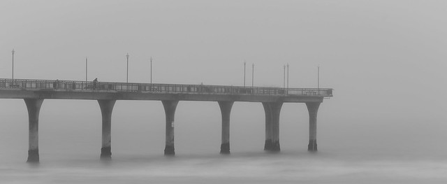 Pier and Fog (130/365)
