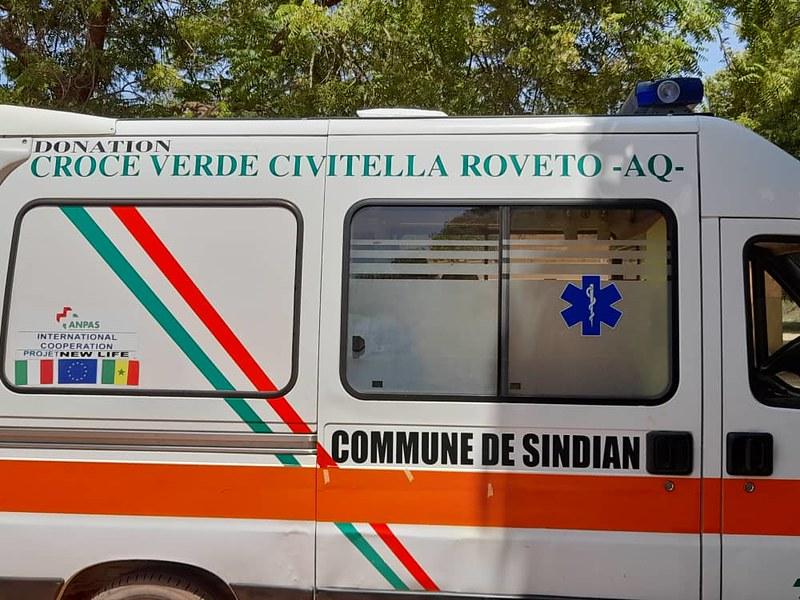 Ambulanza Anpas consegnata in Senegal