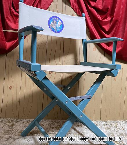 1992 Disneyland Teddy Bear Classic Director's Chair - CBCS 305