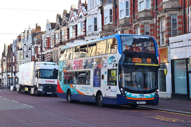 Stagecoach East Kent 15336 YN67YLJ - Bexhill