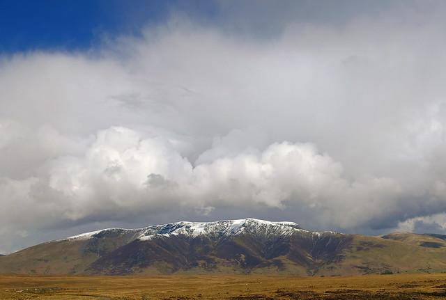 Saddleback with cloud