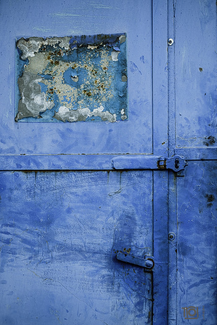 Blue door - Smethwick