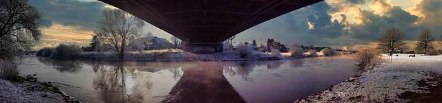 Under the Bridge in Winsen/Aller / Germany