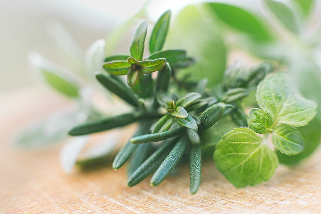Fresh green spices