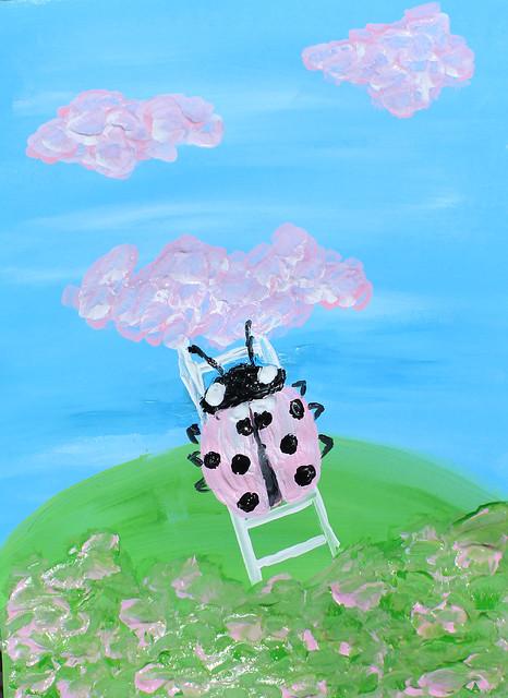 The Pink Ladybug