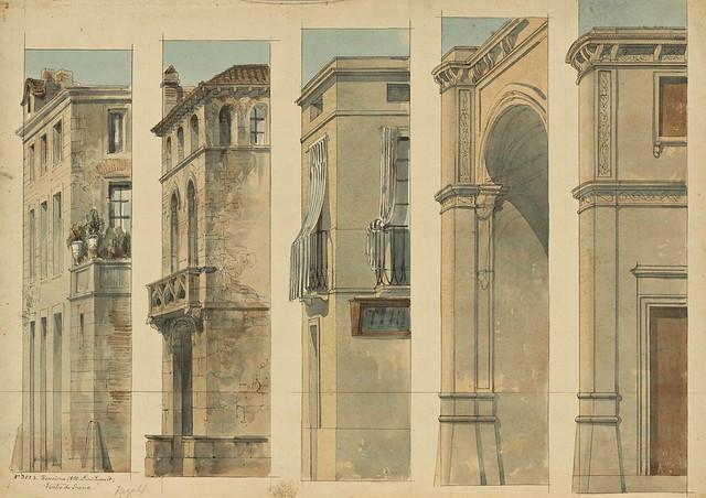 Lluís Rigalt (1814-1894) - Teatre de Gràcia (escenografia)