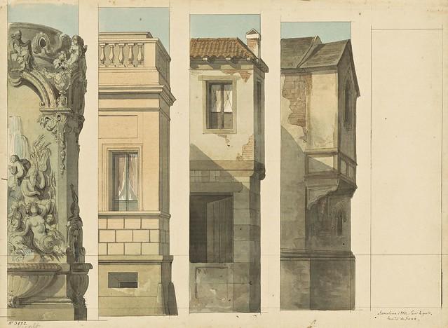 Lluís Rigalt (1814-1894) - Arquitectures (escenografia)