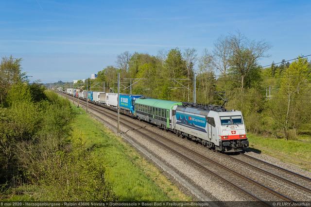 Br 186 907 Rola - Herzogenburgsee