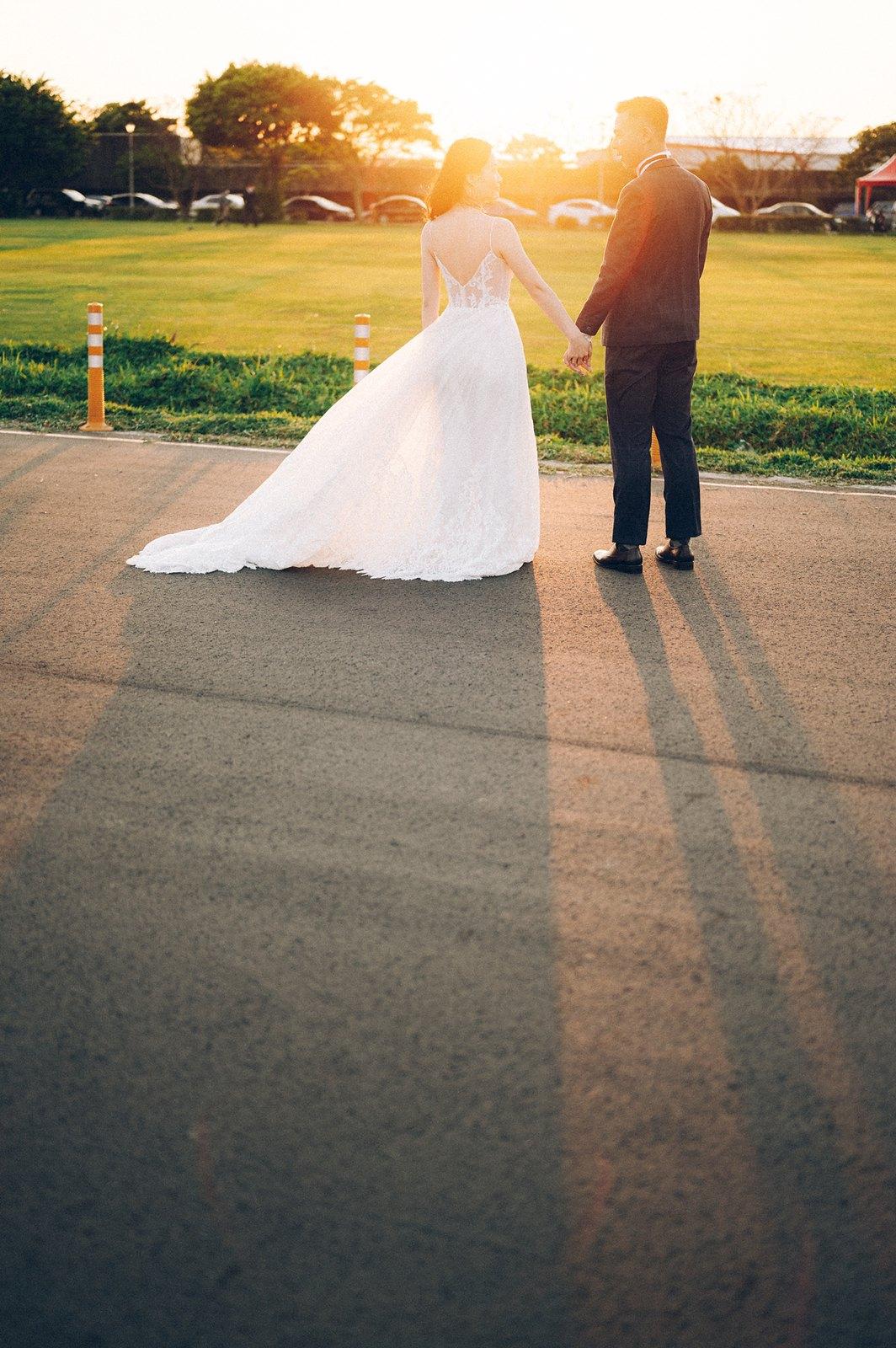 【婚紗】Thomas & Sophia / 婚紗意象 / 觀山河濱公園 / F&P studio