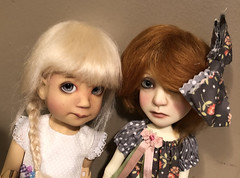 New wigs from FV for Fifi and Little Ruth