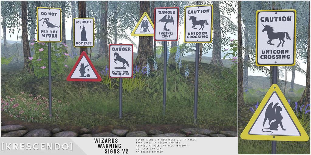 [Kres] Wizard warning signs V2