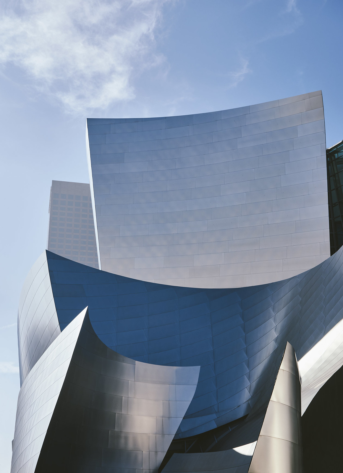 The Disney theater in Los Angeles Downtown.