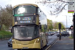 Go North East Mercedes-Benz OM936 Wright microhybrid streetdeck 6377 NK70BYV