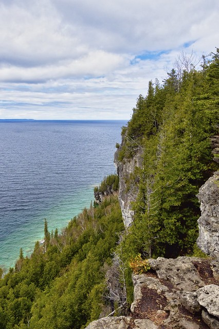 Georgian Bay from a Bruce Trail lookout