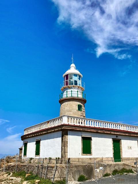 Lighthouse Corrubedo, Galicia, Spain