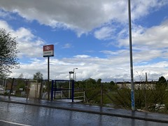 Hawkhead Station Entrance - 10th May 2021
