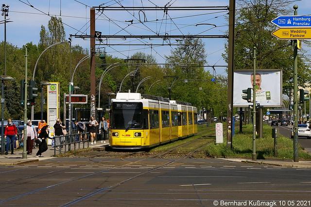 Europa, Deutschland, Berlin, Pankow, Prenzlauer Berg, Greifswalder Straße Ecke Danziger Straße