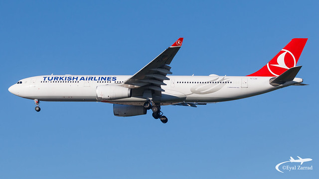 TLV - Turkish Airlines Airbus A330-300 TC-LOD