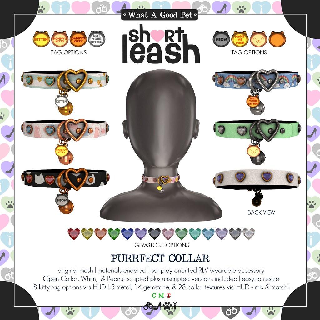 .:Short Leash:. Purrfect Collar