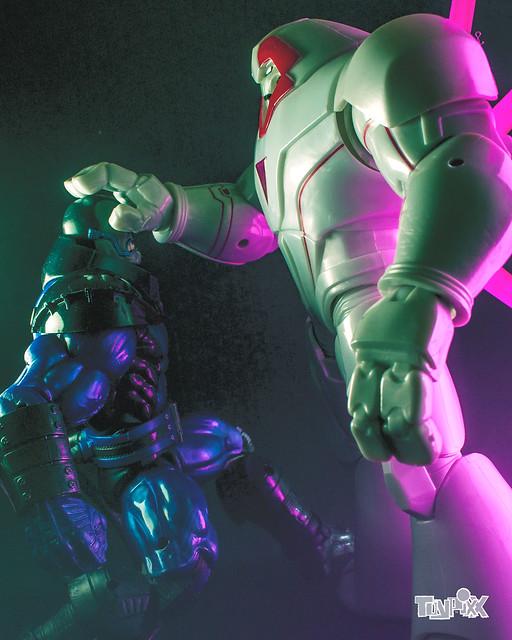 Marvel Legends Nimrod and Marvel Legends Apocalypse