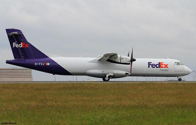 ASL Airlines Ireland (FedEx) ATR 72-202(F) EI-FXJ